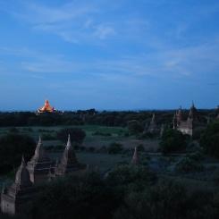 Zonsondergang Bagan