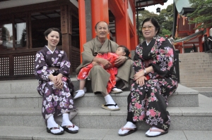 Spraakverwarringen liggen continu op de loer, maar de mensen in Japan zijn de bank genomen erg vriendelijk.