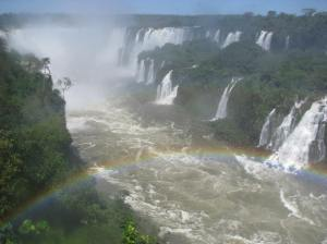 De watervallen van Iguacu