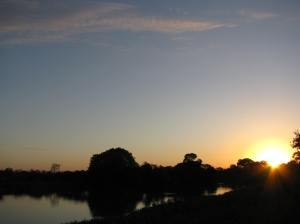 Zonsondergang Pantanal