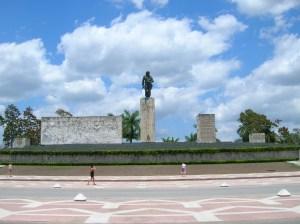 In Santa Clara staan het mausoleum en museum voor Che Guevara