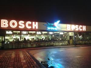 De voormalige Bosch-fabriek is nu een biologisch restaurant