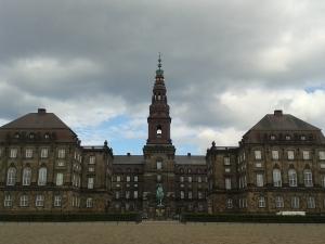 Christiansborg, in de volksmond ook wel bekend als Borgen