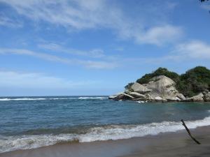 Parque Tayrona staat bekend om zijn wonderschone stranden