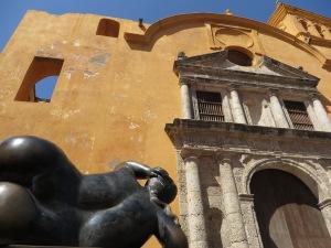 De ommuurde binnenstad van Cartagena staat op de Wereldergoedlijst van Unesco