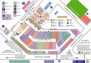 Op de bonnefooi naar de Chatuchak Weekendmarkt gaan kan, maar een plattegrond is soms wel handig.
