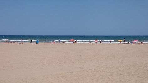 Valencia beschikt over een kilometerslange kustlijn en zandstranden.