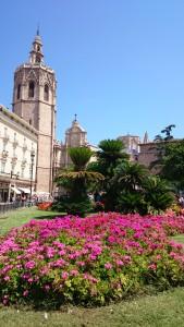 Verdwalen is bijna niet mogelijk in het hart van Valencia. Vroeg of laat kom je weer uit bij de kathedraal.