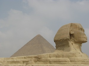 De sphinx: mooi om ooit gezien te hebben.