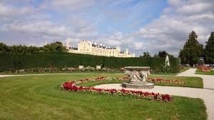 Kasteel Lednice is een klassiek kasteel, dat zeer veel bezoekers trekt.