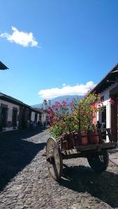 Antigua is een mooie en fijne stad om een paar weken te verblijven.